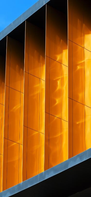 Fond abstrait couleur orange